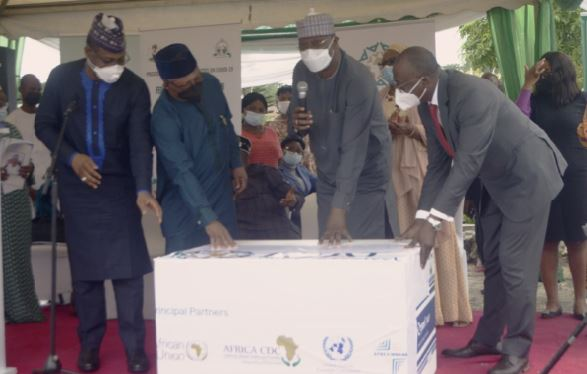 FG Flags Off Second Phase Of National Covid-19 Vaccination Of Moderna Vaccine